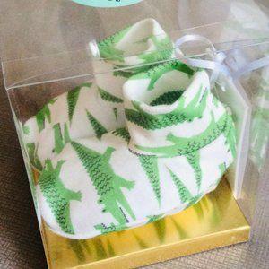Organic Baby Booties Set {Alligator} NWT